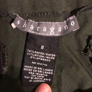 Sharagano Pants & Jumpsuits - Army green pull on dress pants. Super comfy!!!